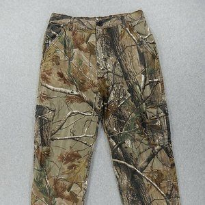 RealTree Cotton/Polyester Cargo Camouflage Pants